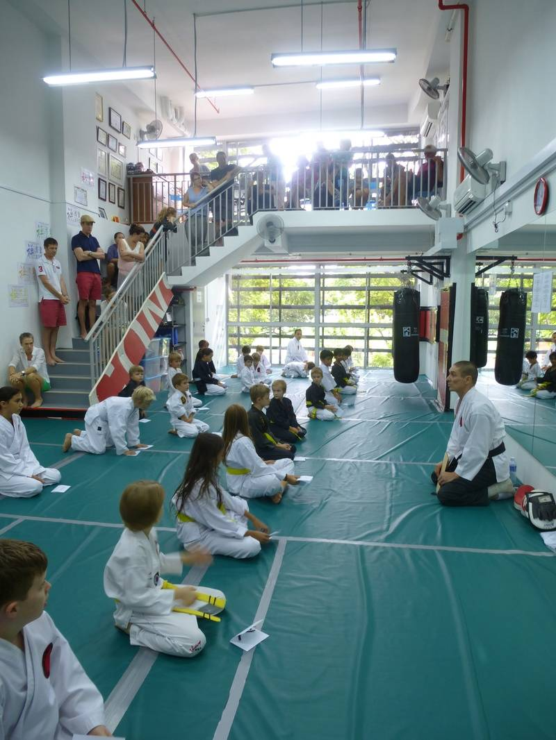 ZDK Karate Kids gradings