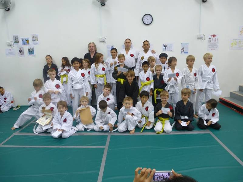 ZDK Karate Kids grading