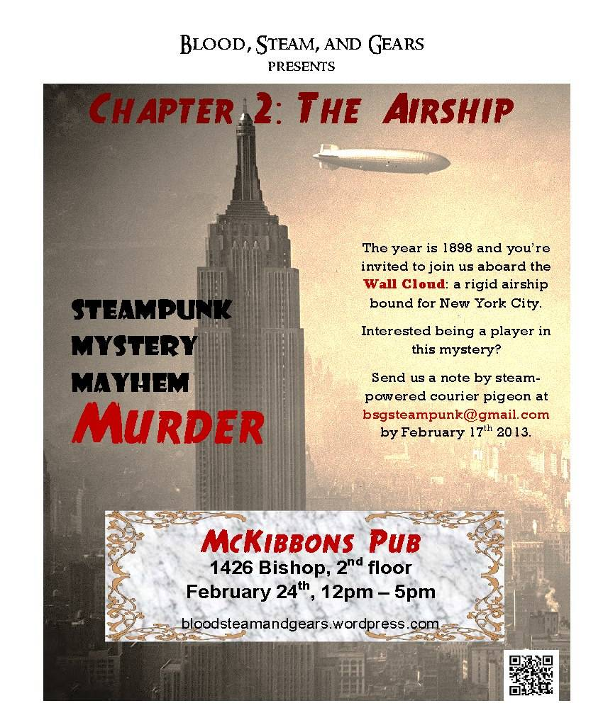 Poster for The Airship event
