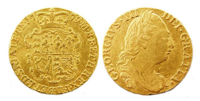 Post-Medieval gold guinea