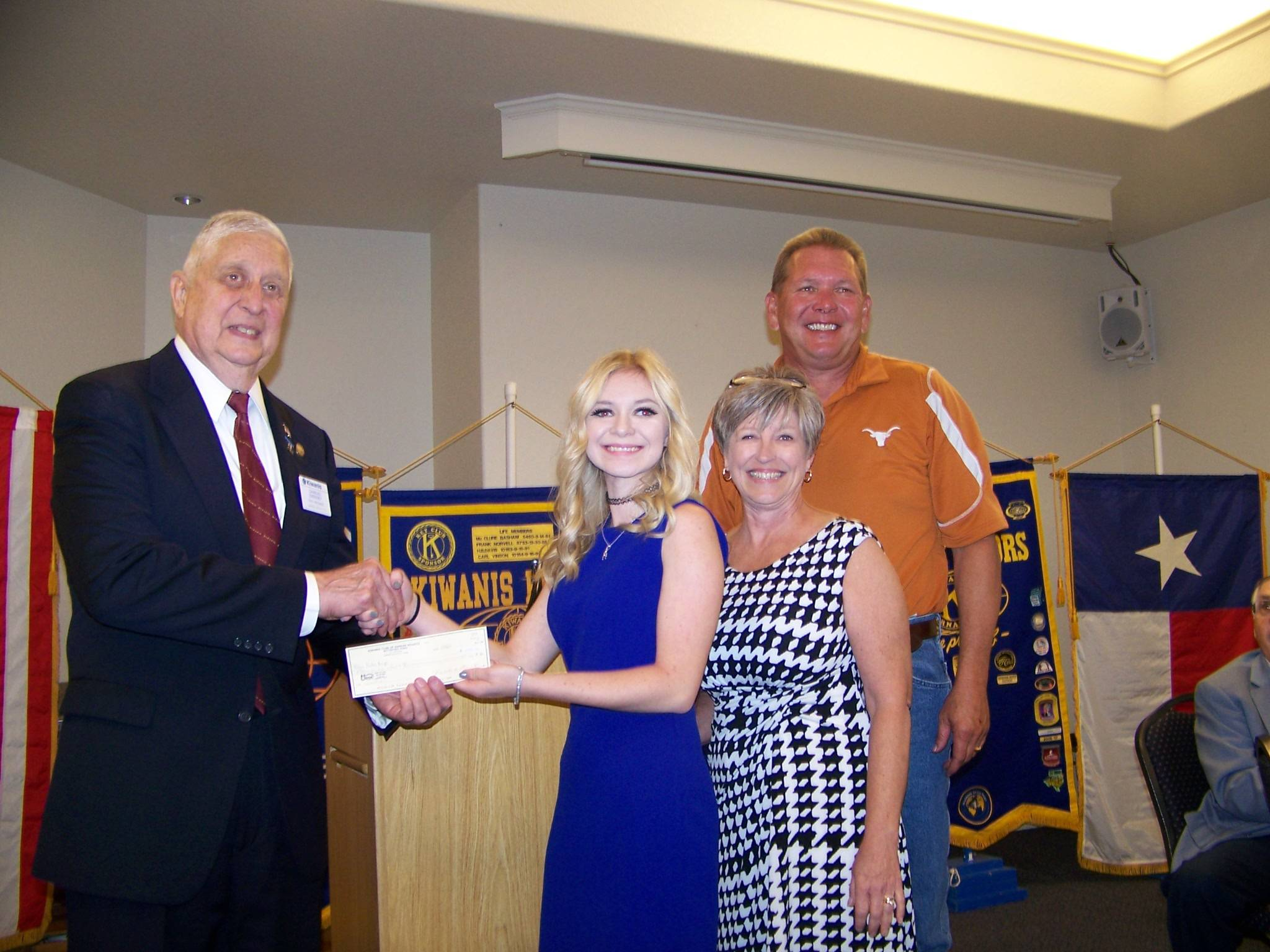 Haley Knapp & parents Bill & Lori Knapp