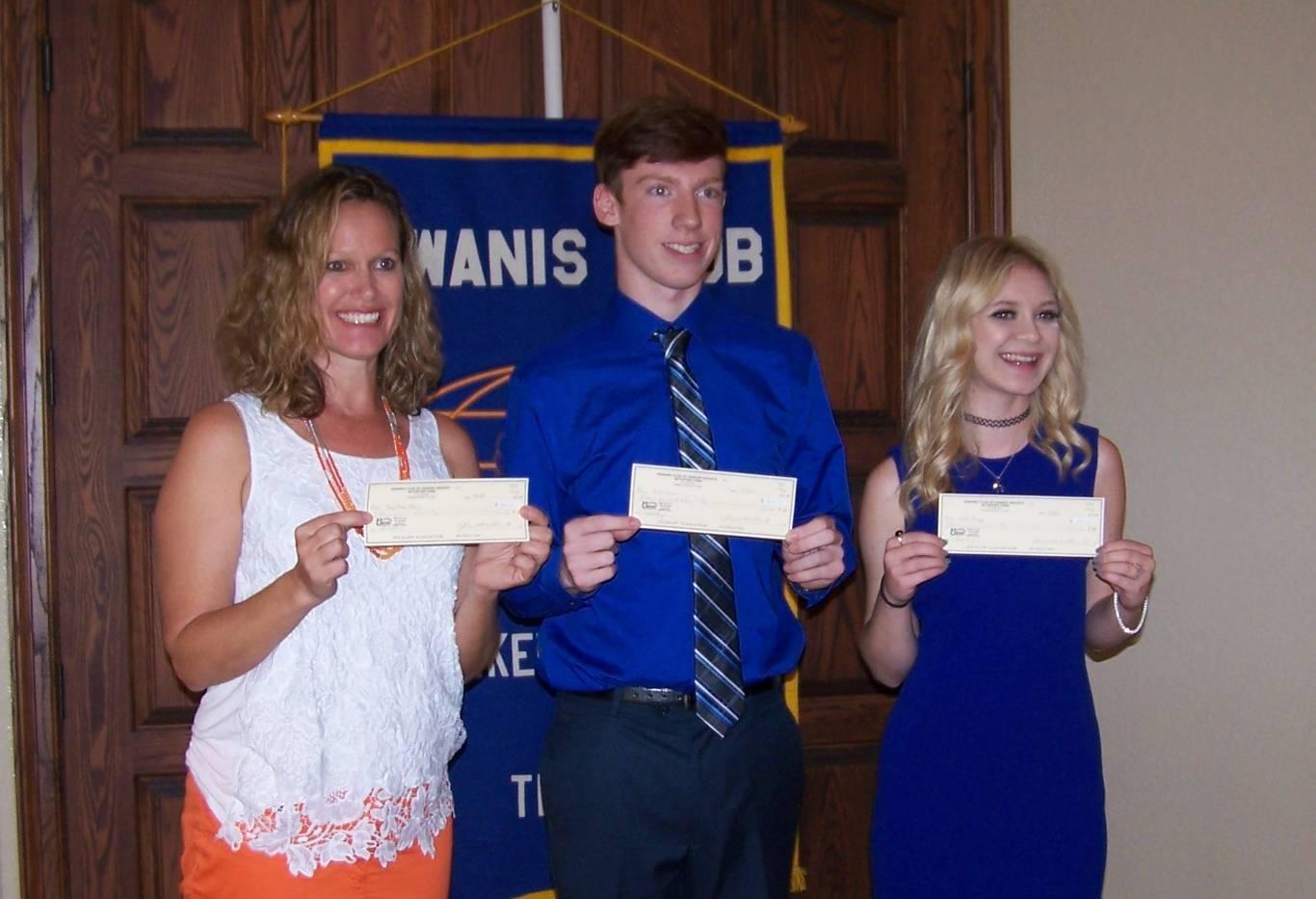 P.R. Cox Scholarship recipients