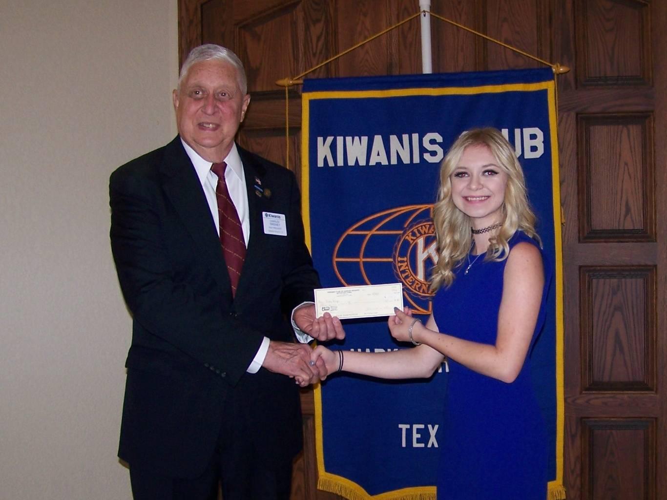 P. R. Cox Scholarship recipient