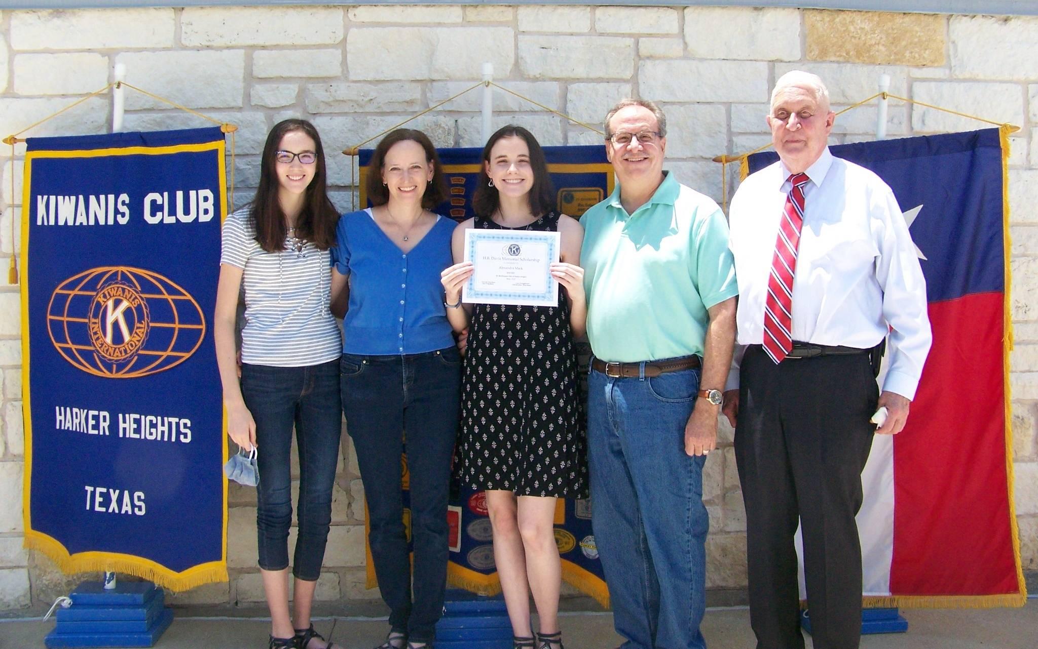 Alexandra Mack & Family
