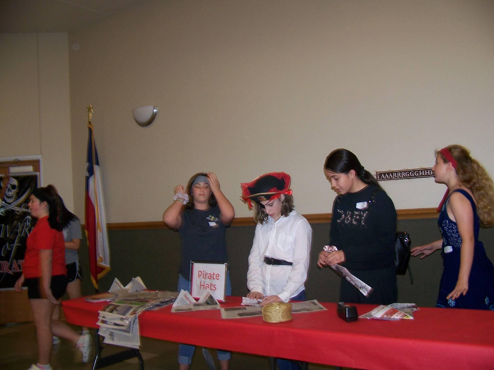 Sailor hat station