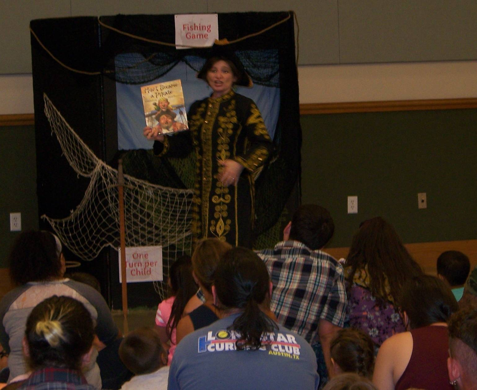Pirate story with Ms Lisa