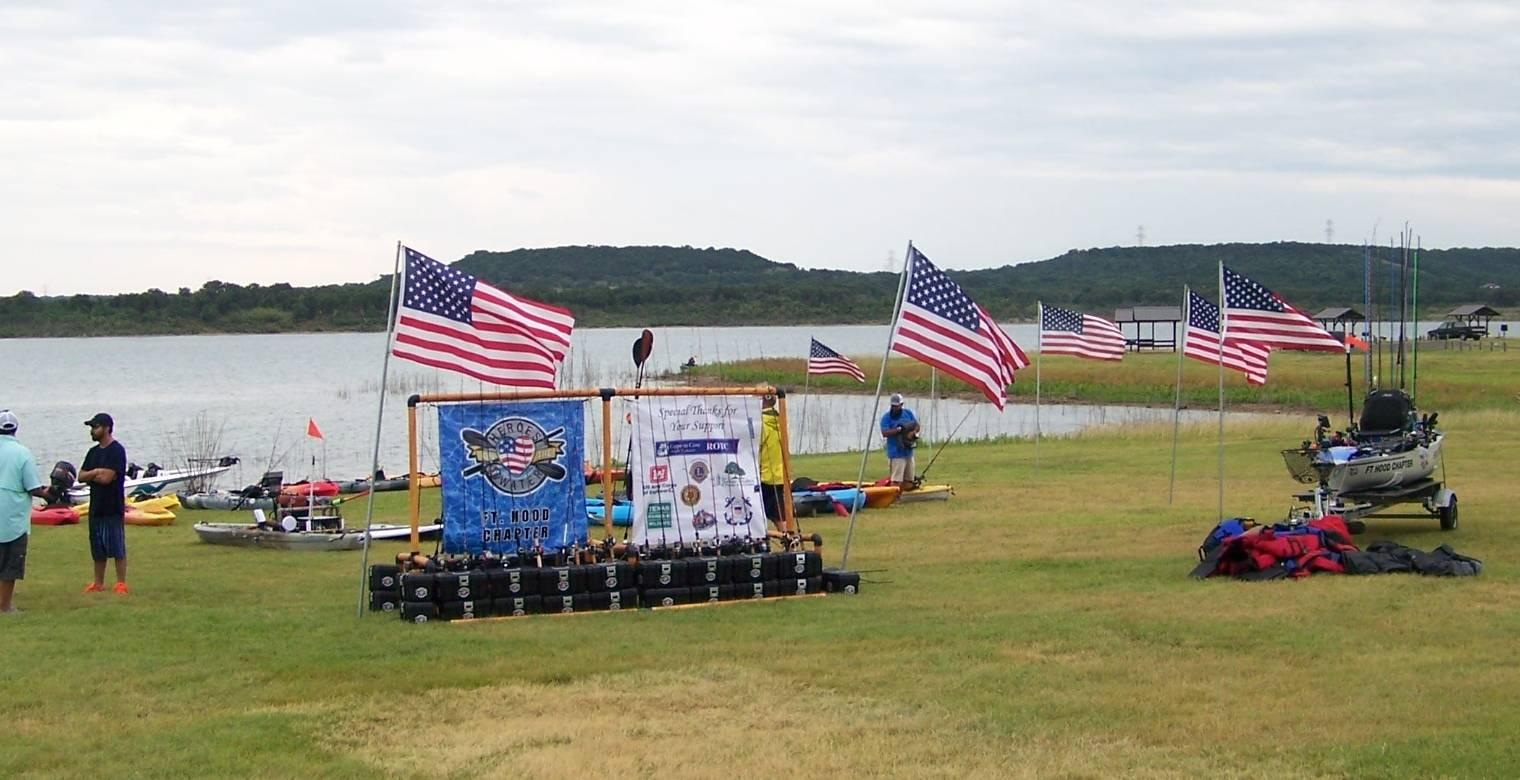 Kiwanis Flags to honor veterans & service members