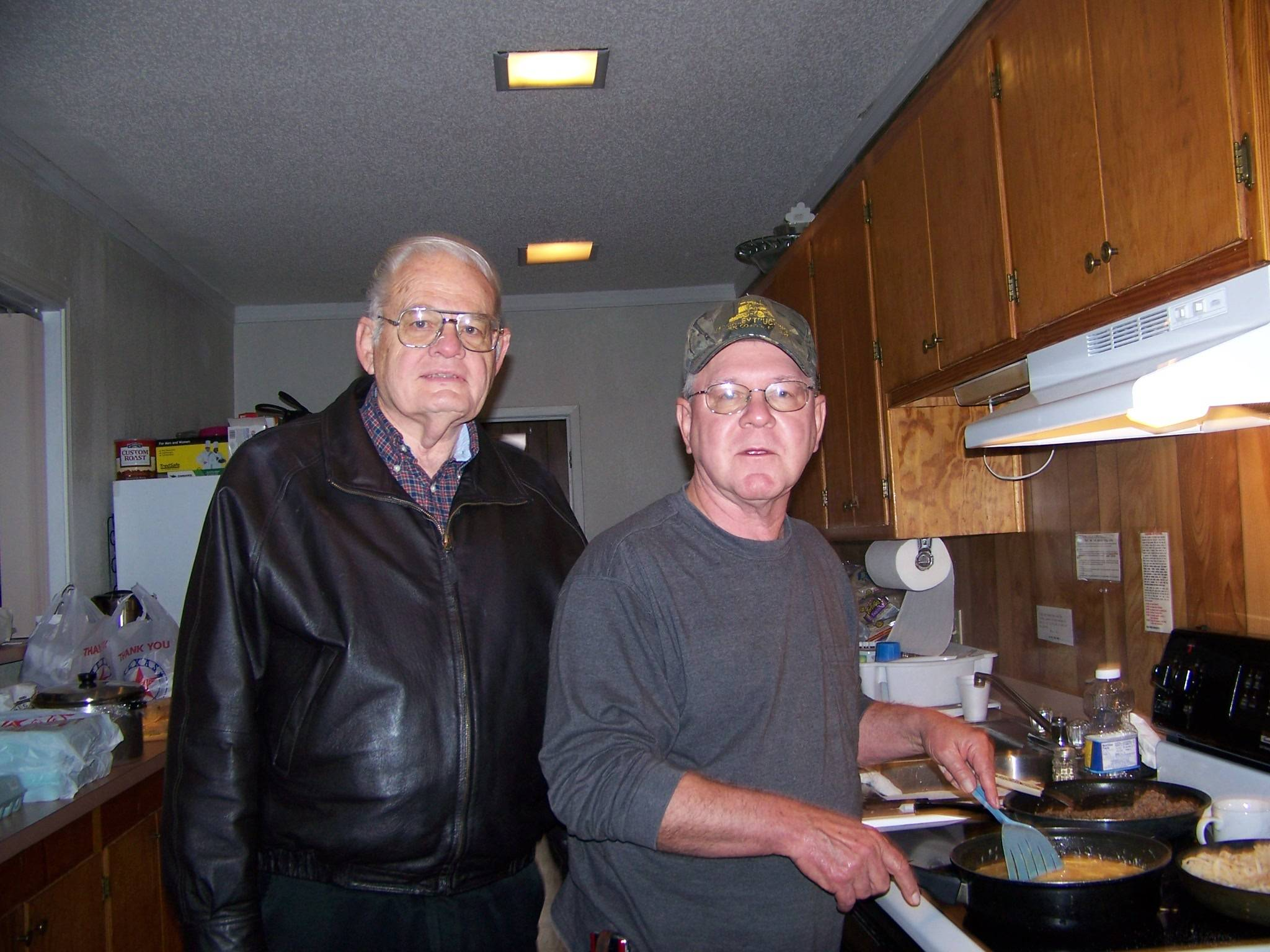 Rev.Jay Thomas & Norm Dunbar