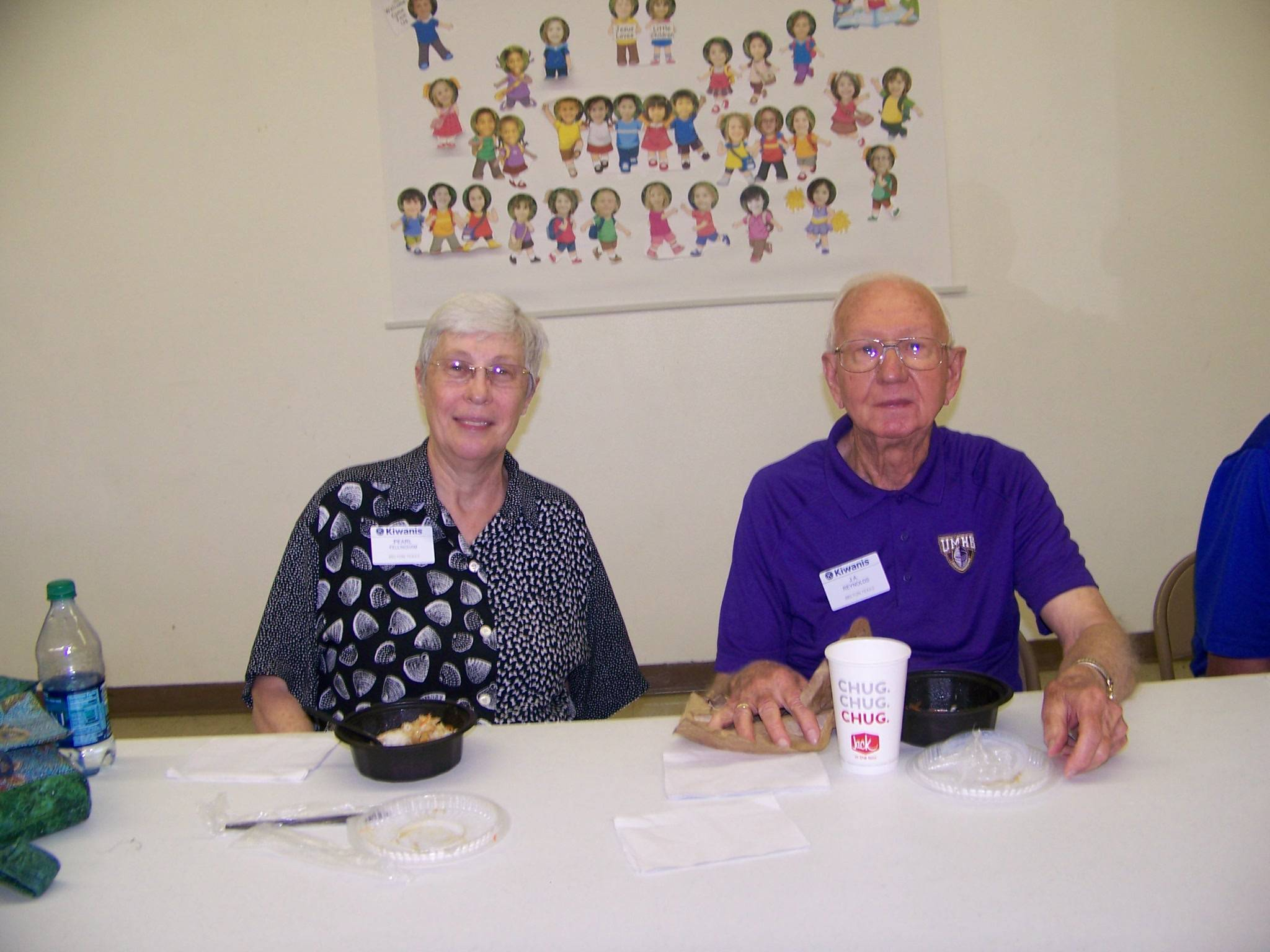 Pearl Fellingham & J A Reynolds