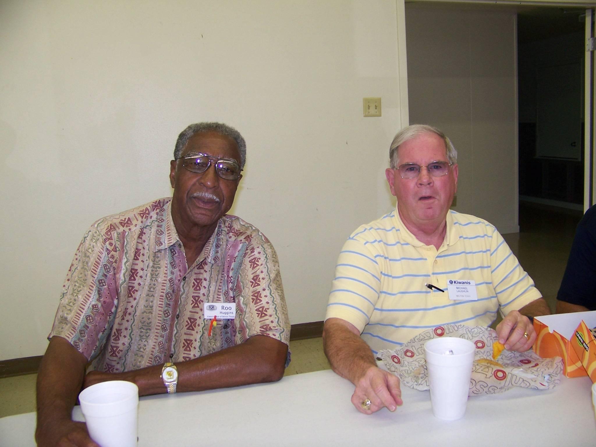Roo Huggins & Mike Laughlin
