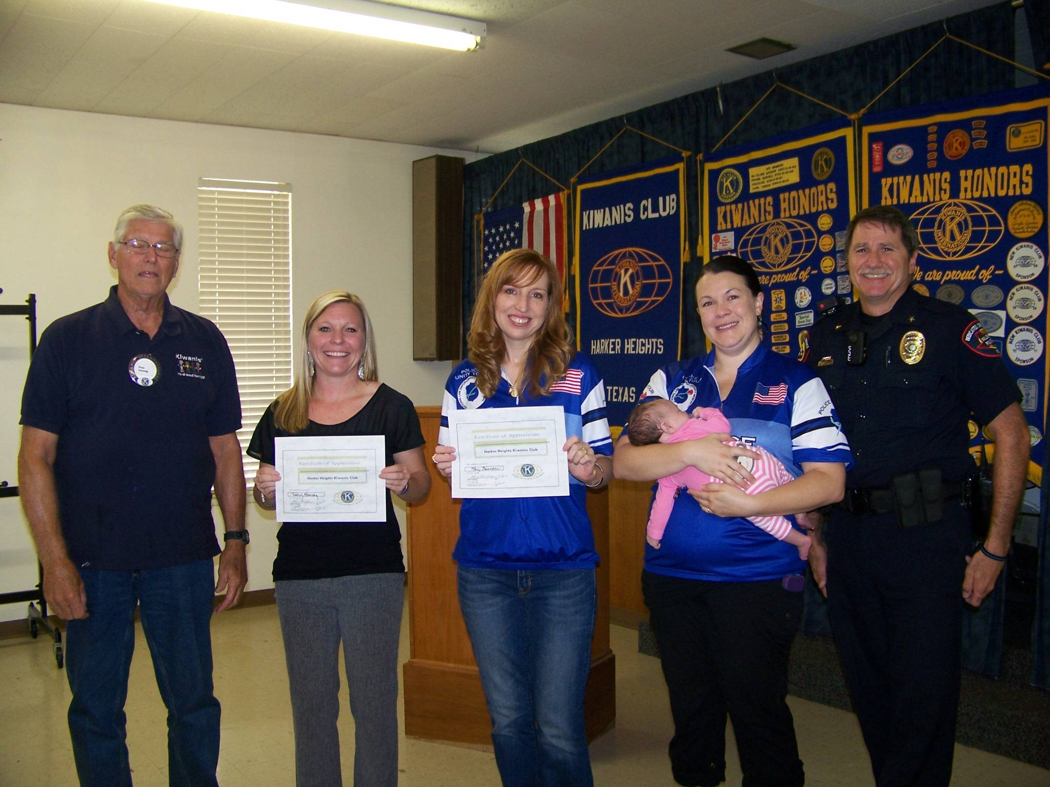 Kimberly Hornsby, Holly Dinwiddie, Amanda Holtzclaw, Reese Davis