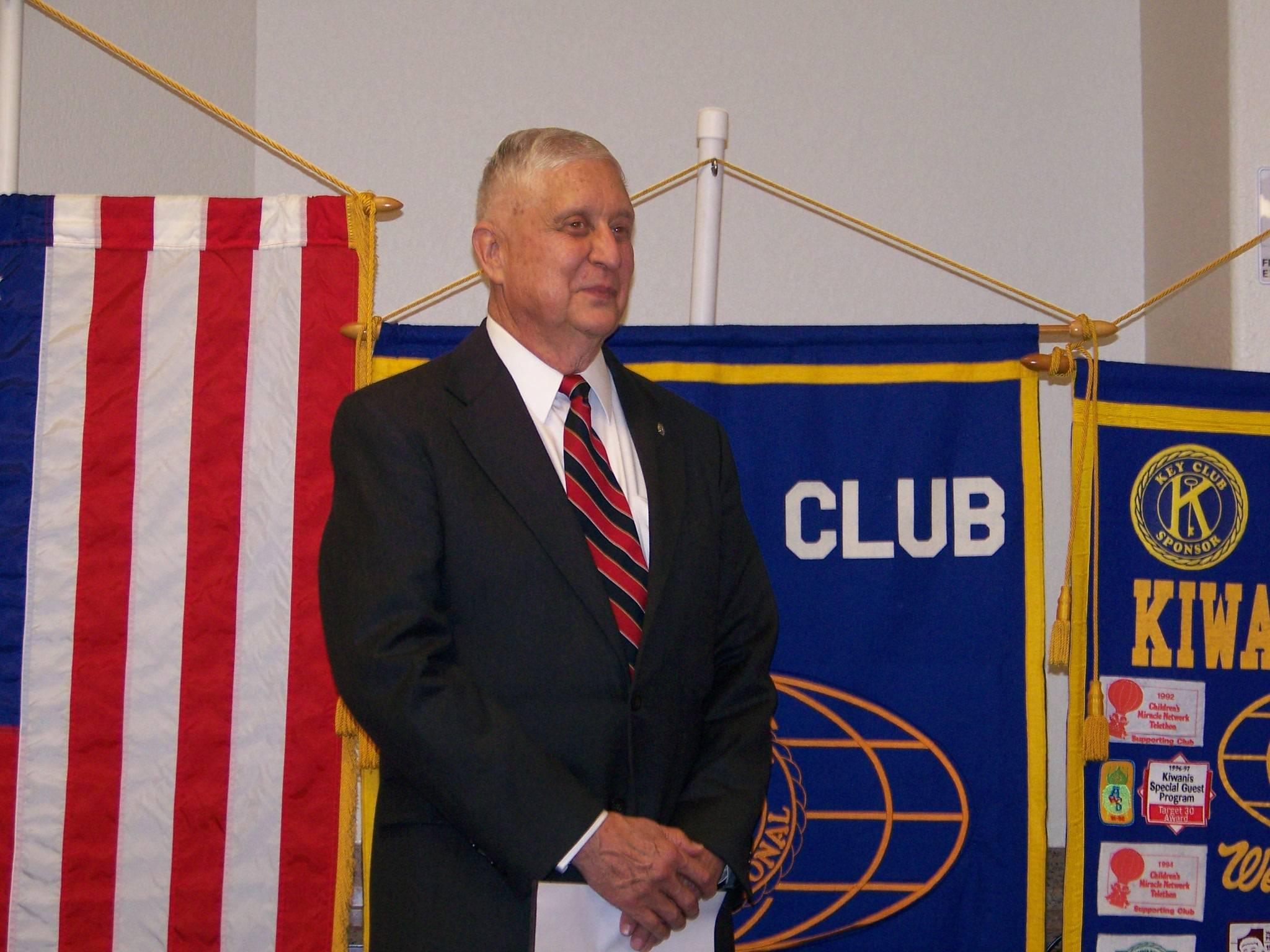 2015-16 President Charles Sweeney