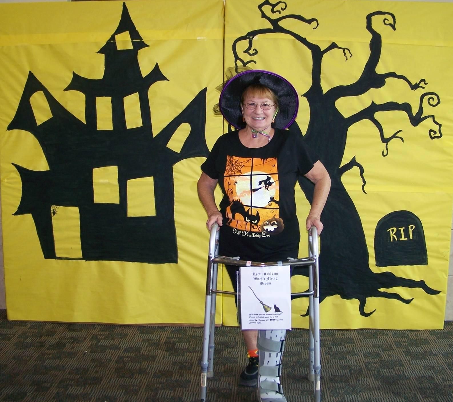 Vivian Marschik at 2015 Harker Heights Library Halloween Party