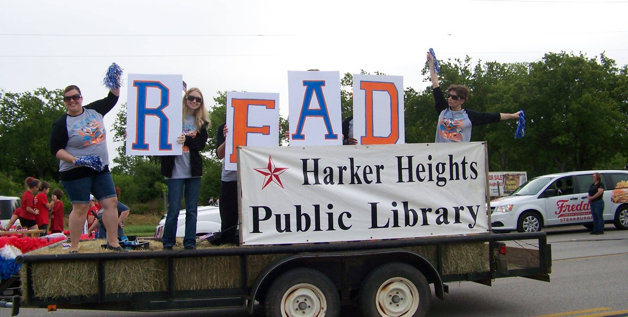 HH Library in the Memorial Day Parade