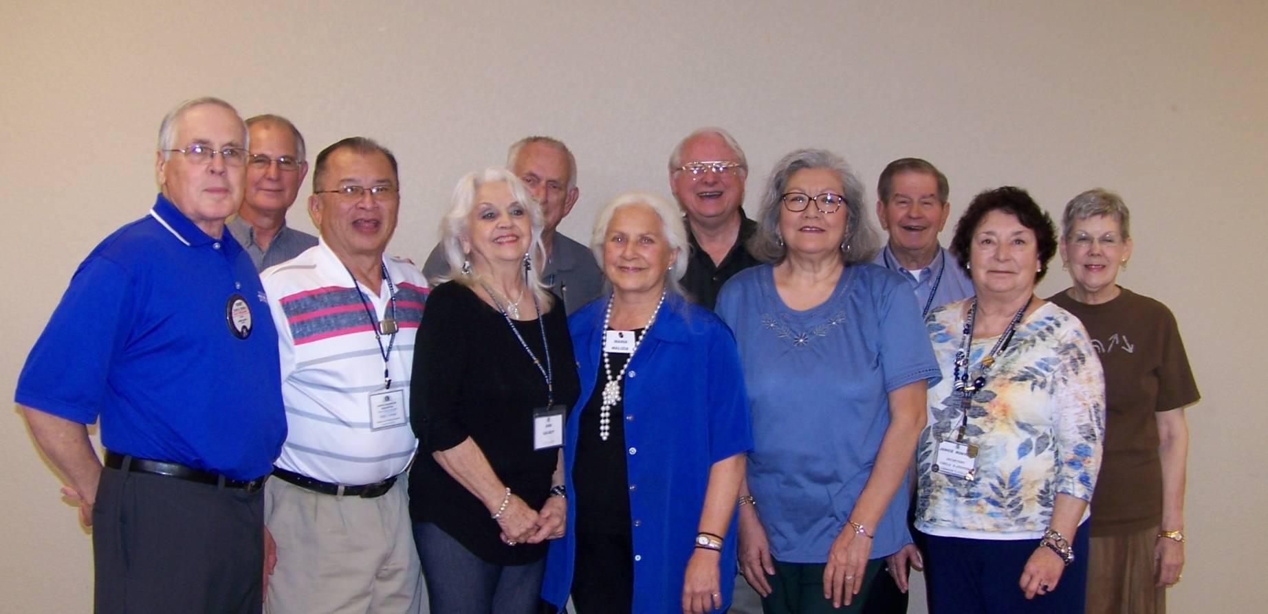 Waco Seniors inter-Club visit