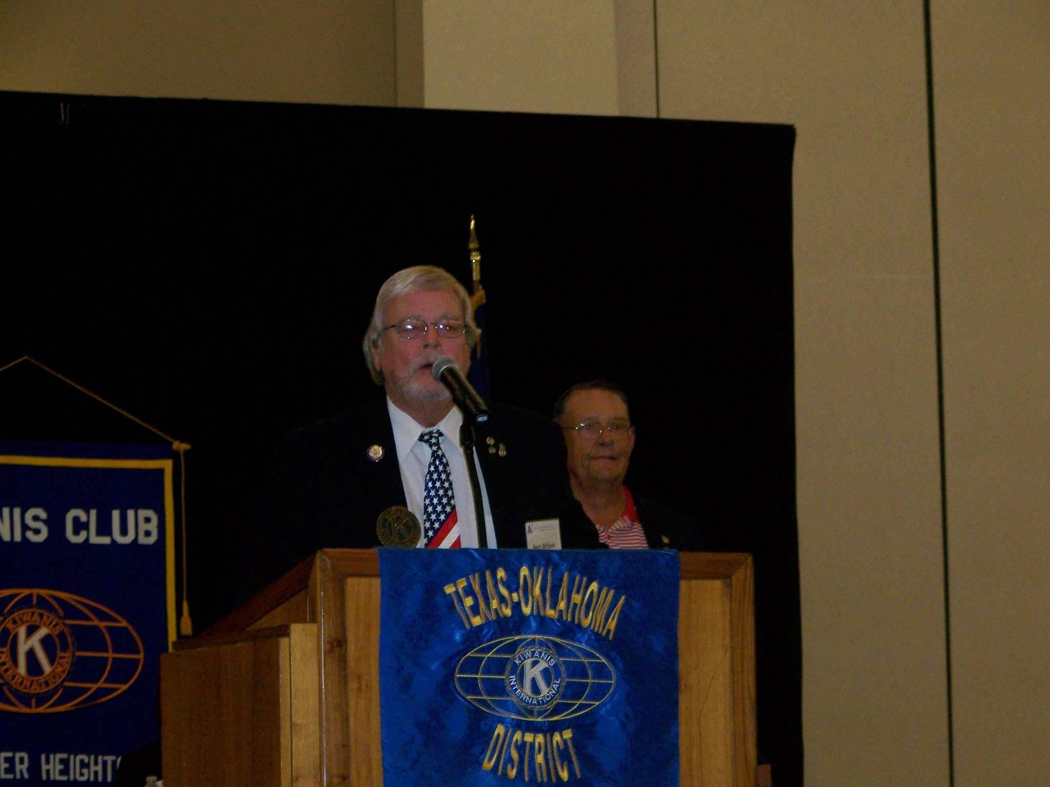 Bert from Waco Seniors - Opening Session
