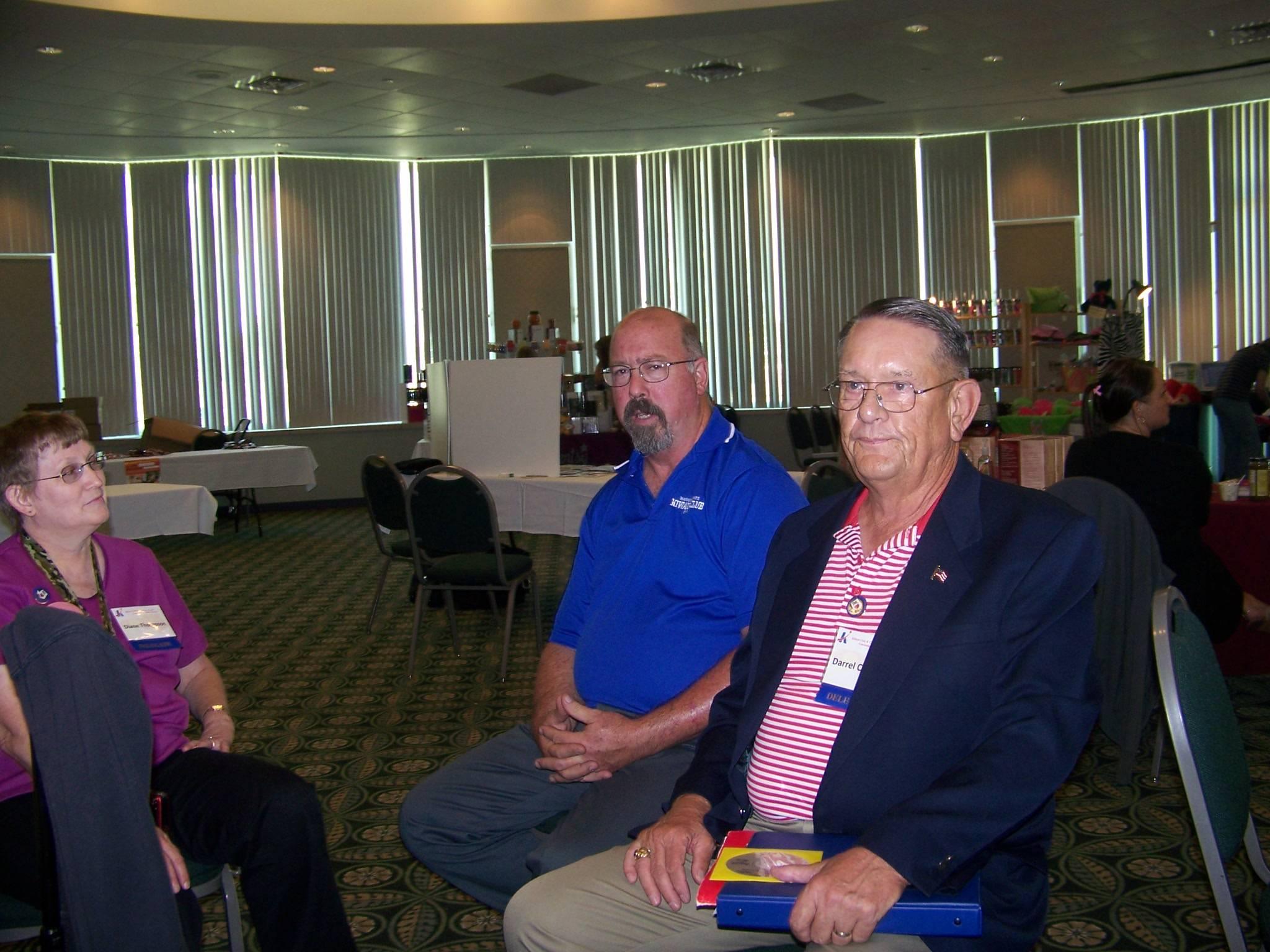 Diane Thompson, Paul Loughran, & Darrel Charlton