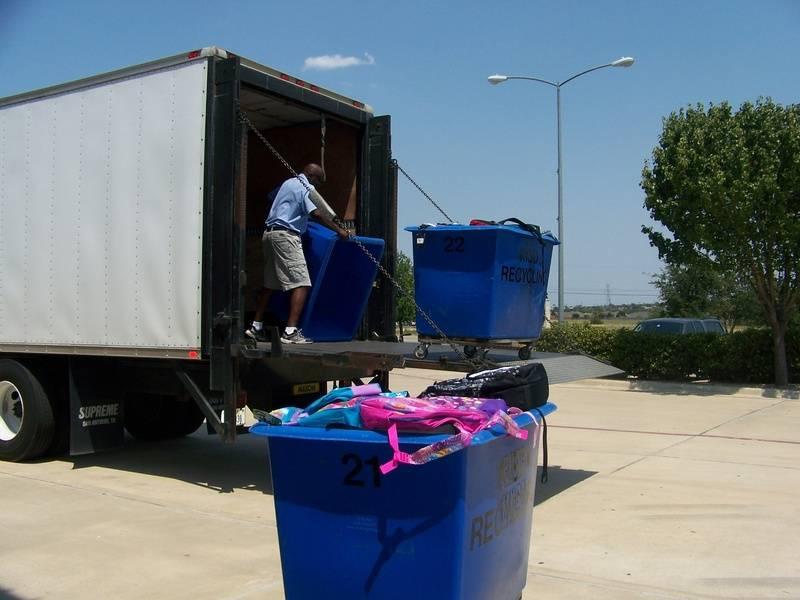 240 Backpacks were delivered on Friday