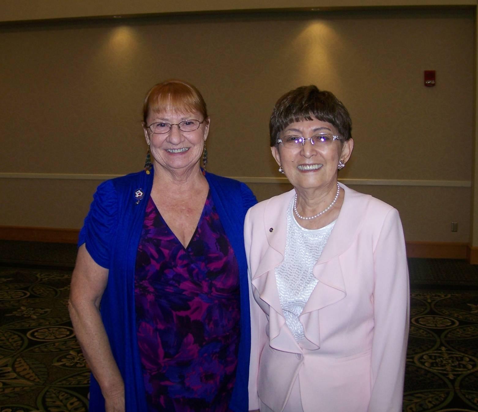 Vivian Marschik & Mariko Cross