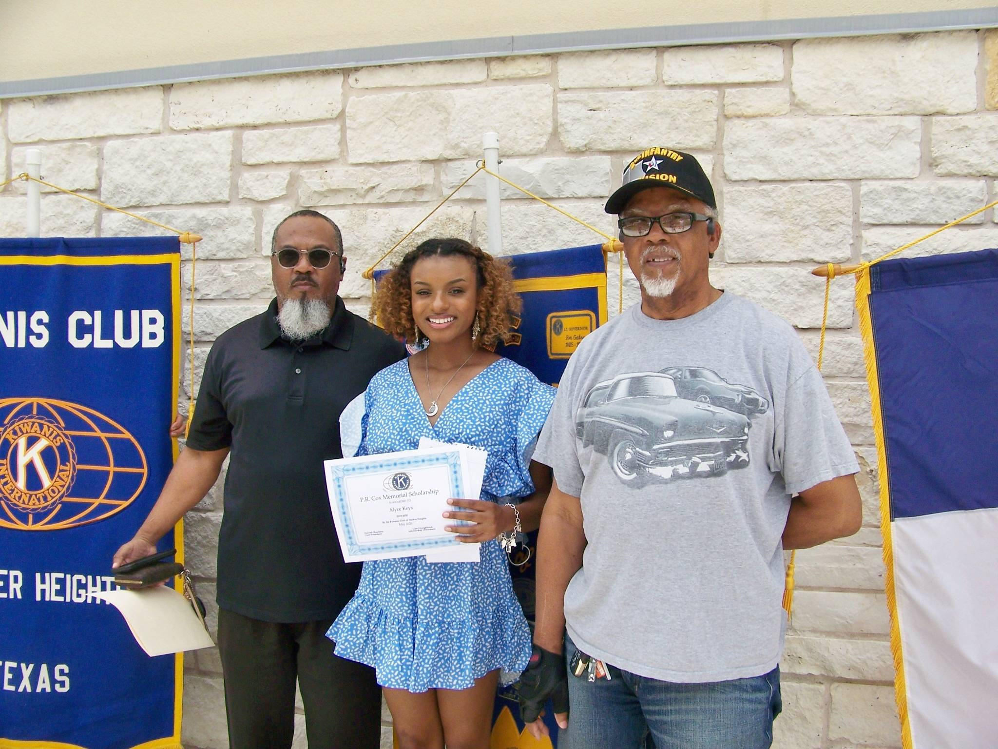 Alyce Keys with Father & Grandfather