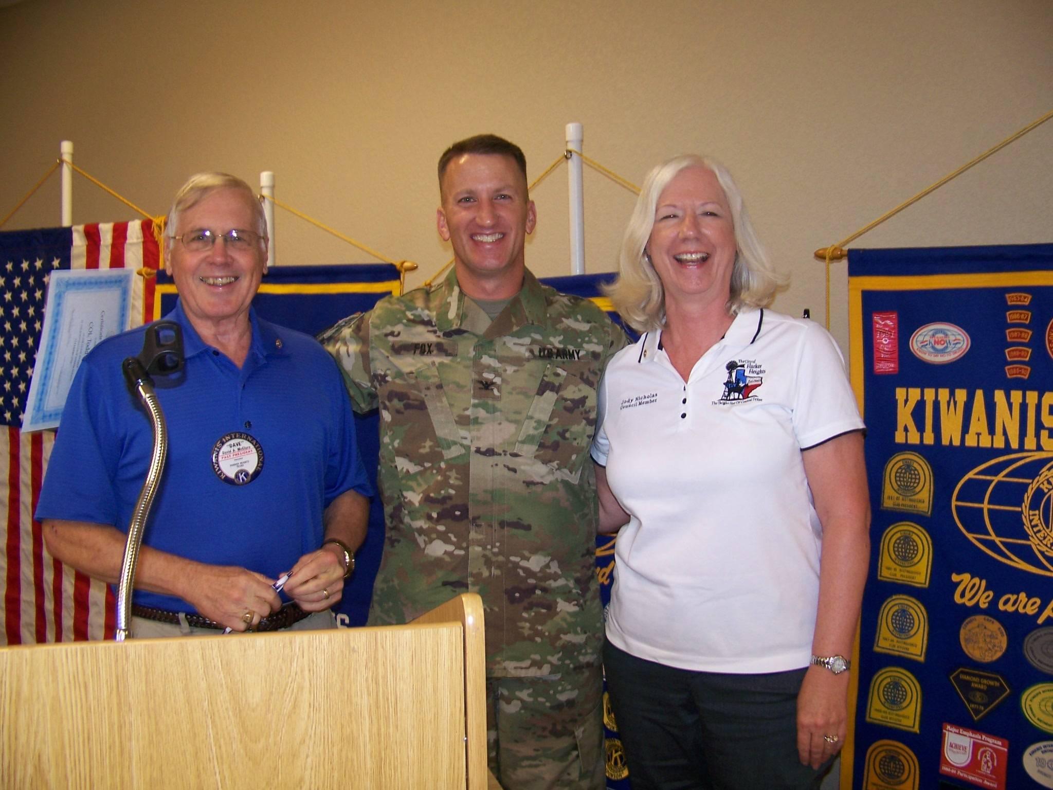 Todd Fox, Ft Hood Garrison Commander