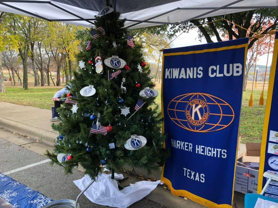 Kiwanis Patriotic Christmas Tree