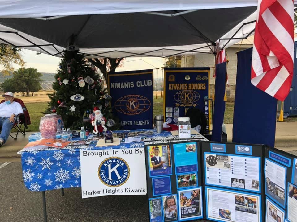 HH Holiday Market Kiwanis Booth