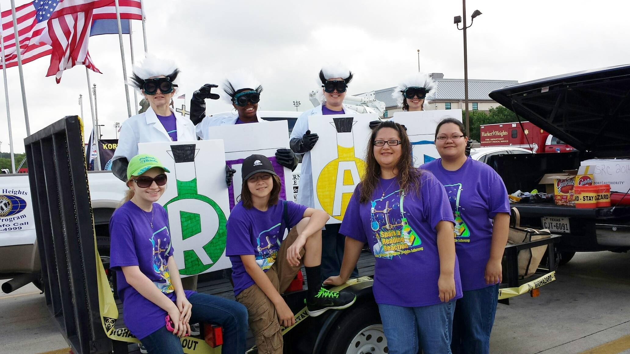 HH Library in the Memorial Day Parade 2014