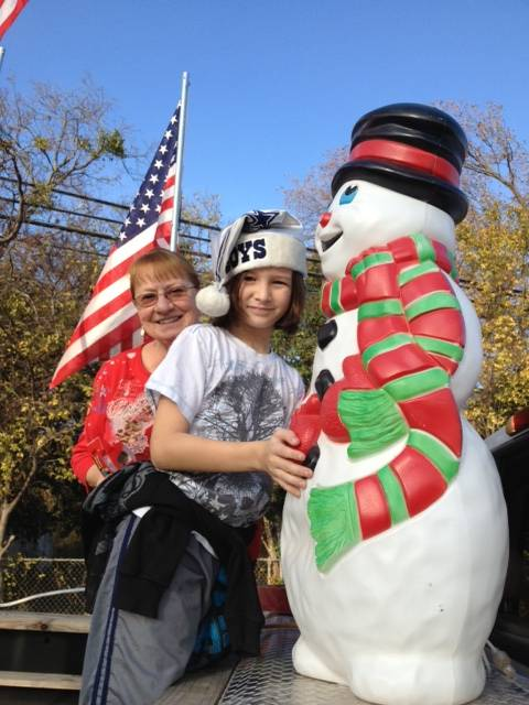 Ian and Frosty