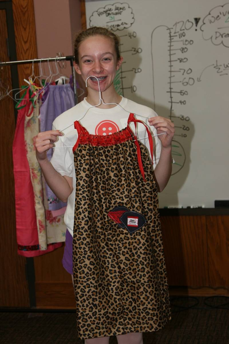 One of our seasoned seamstresses!