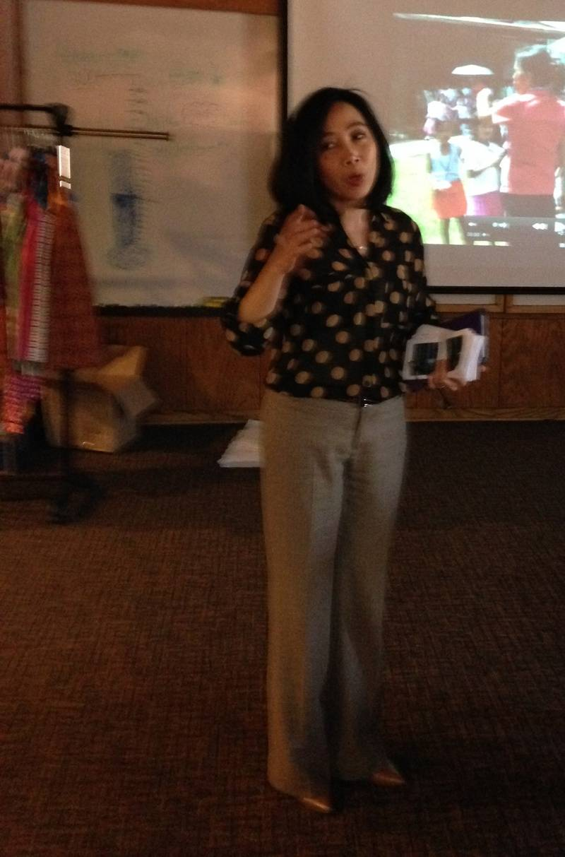 Mrs. Cecile Dagohoy's Philippine Presentation