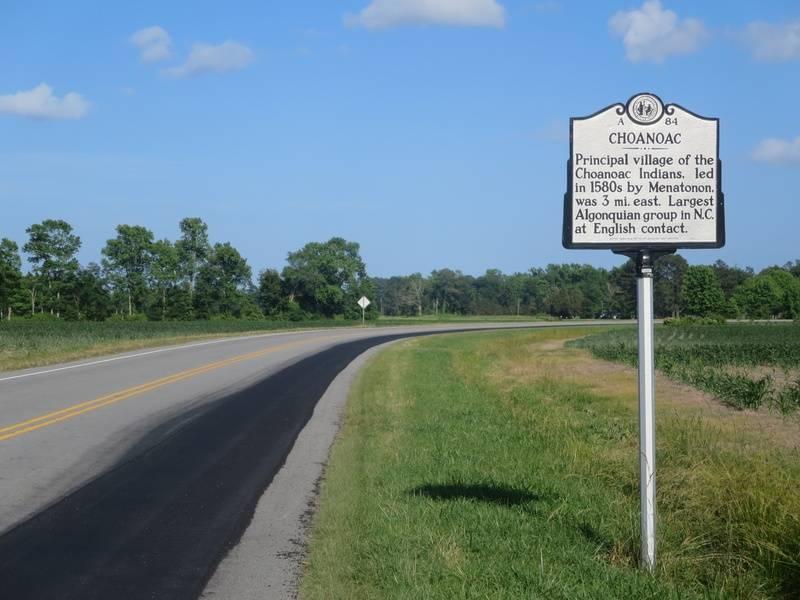 Choanoac town historical marker