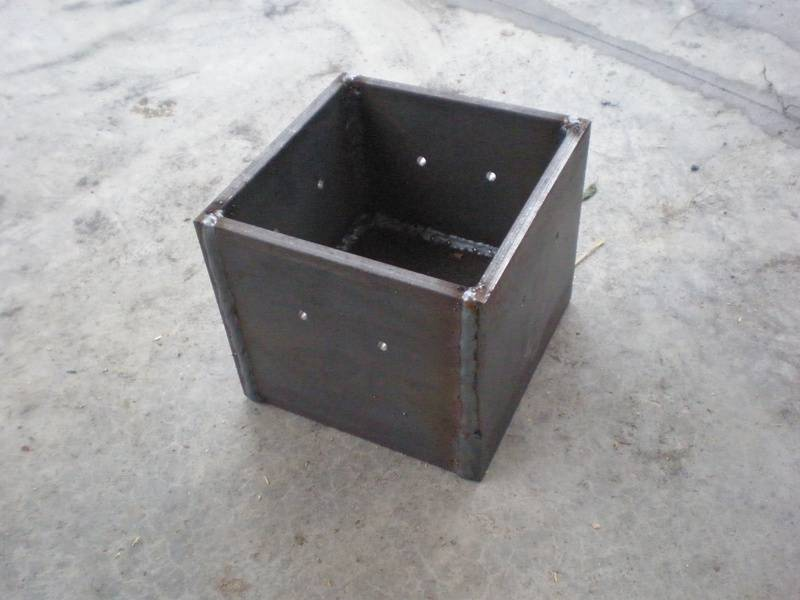 Heavy-duty custom joist hanger