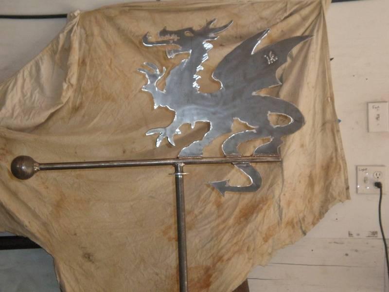 Dragon wind vane