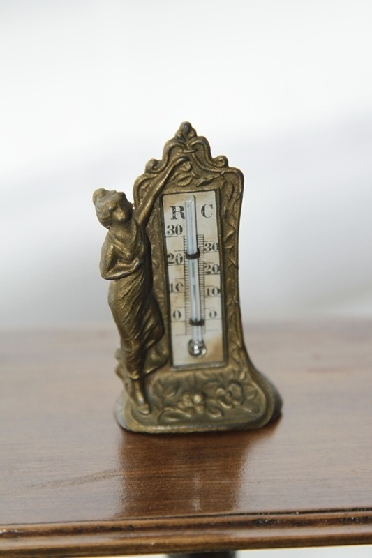Gilt Thermometer