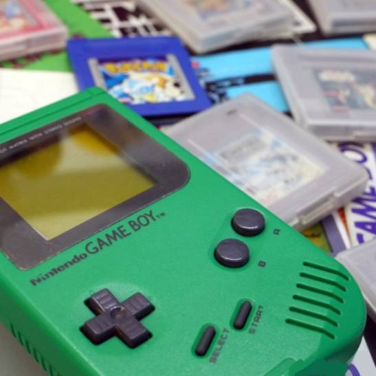 The Play It Loud Game Boy