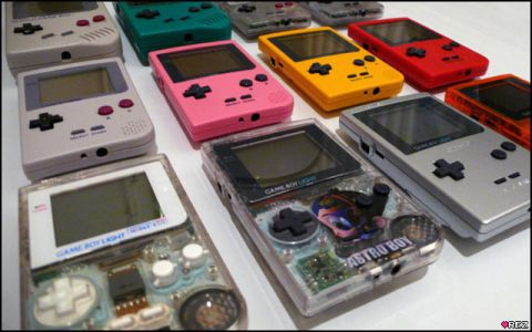 A Series of Rare Game Boys