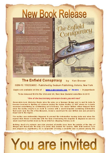 The Enfield Conspiracy by Ken Brewer