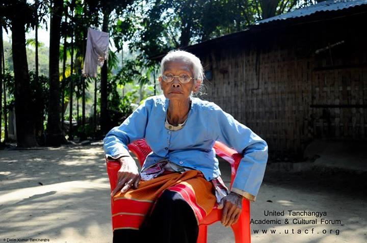 Tanchangya Old lady