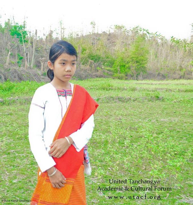 Tanchangya Girl