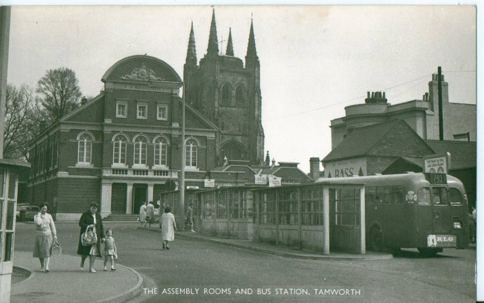 Tamworth Bus Station.