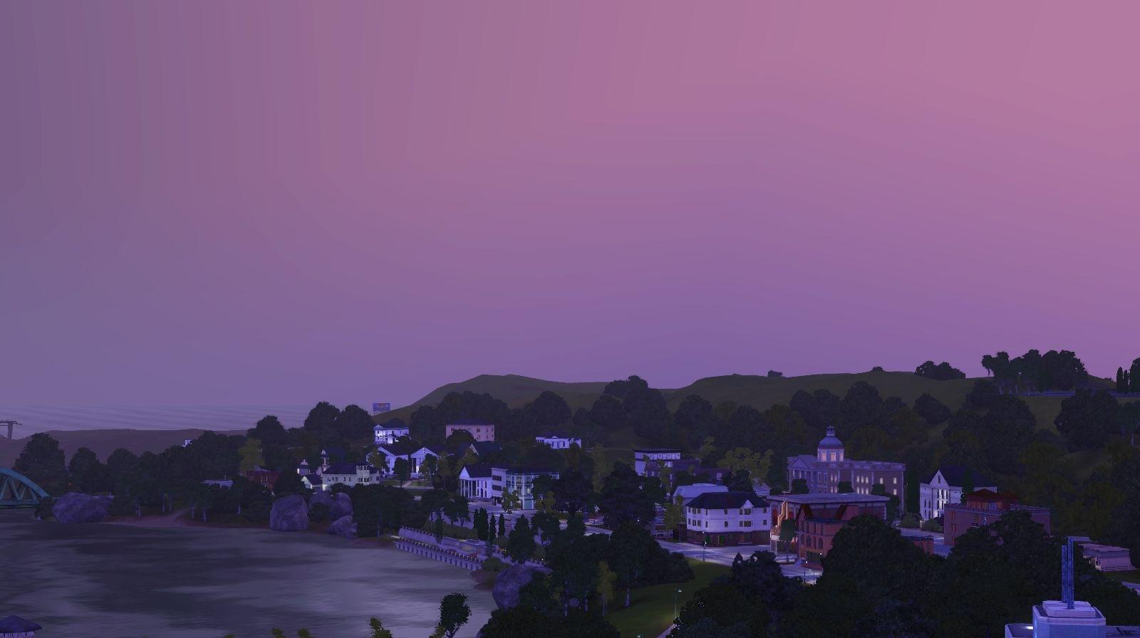 Twinbrook sunset
