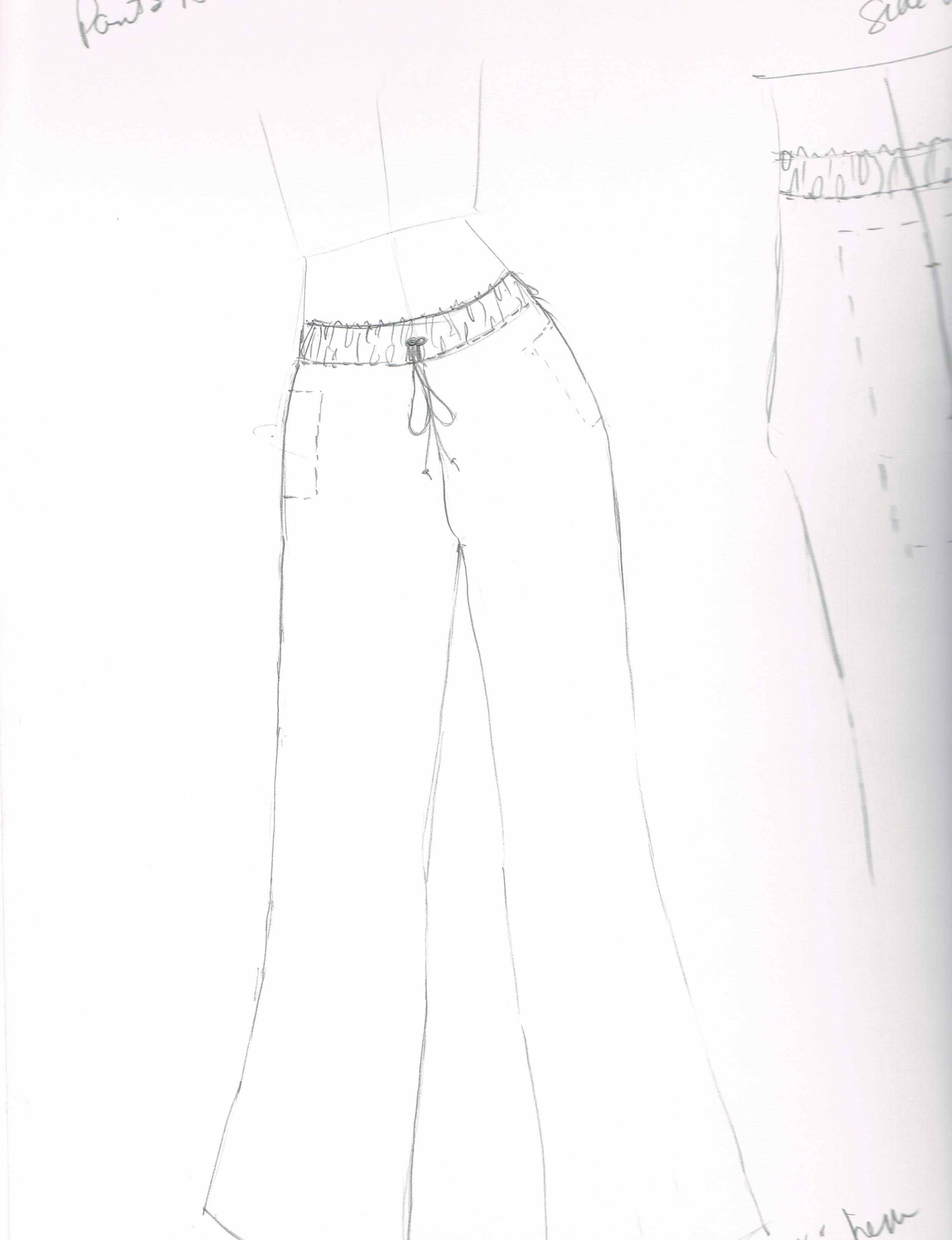 Project_3_galabia_pants_sketch