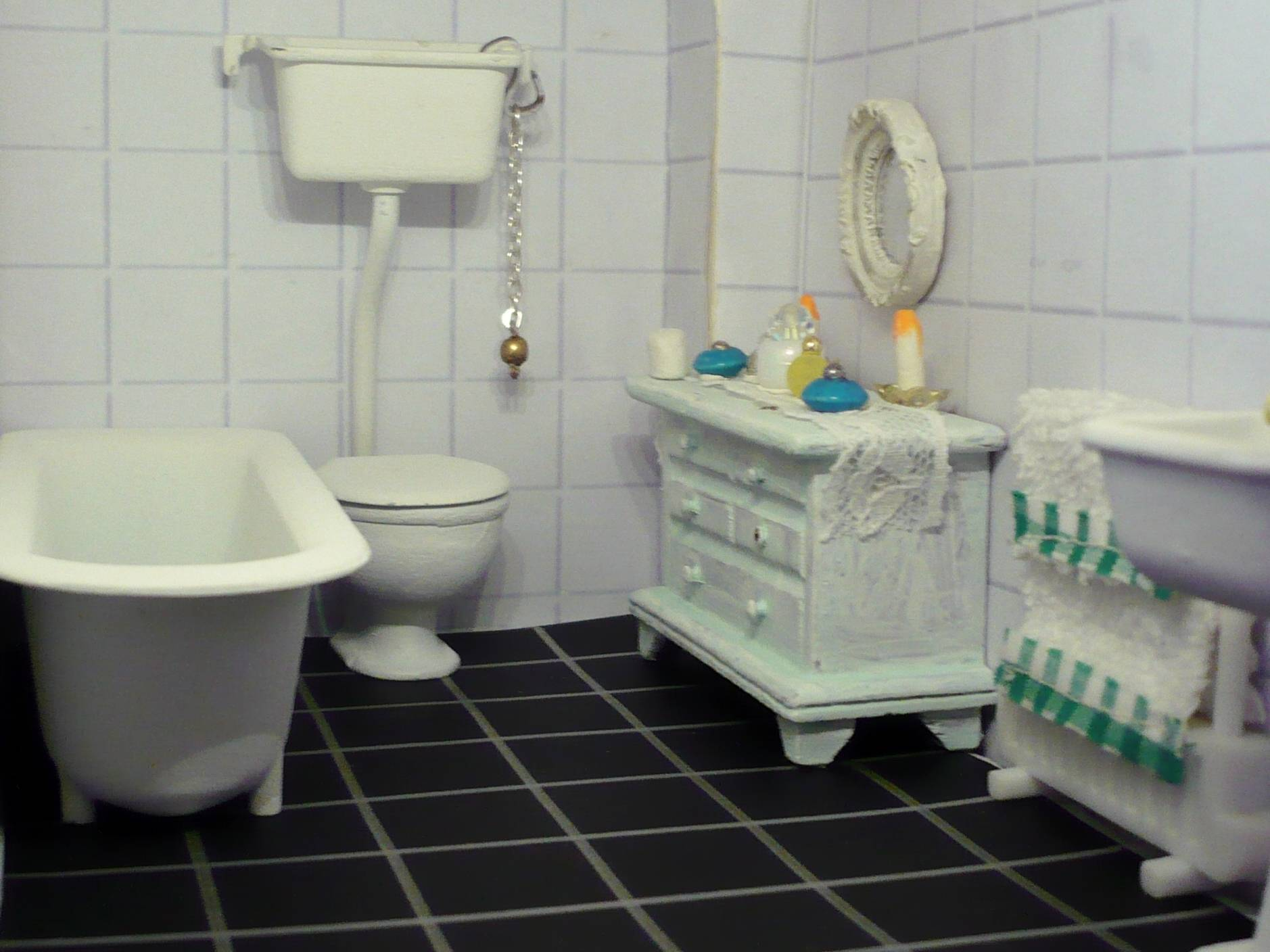 Changed the bathroom