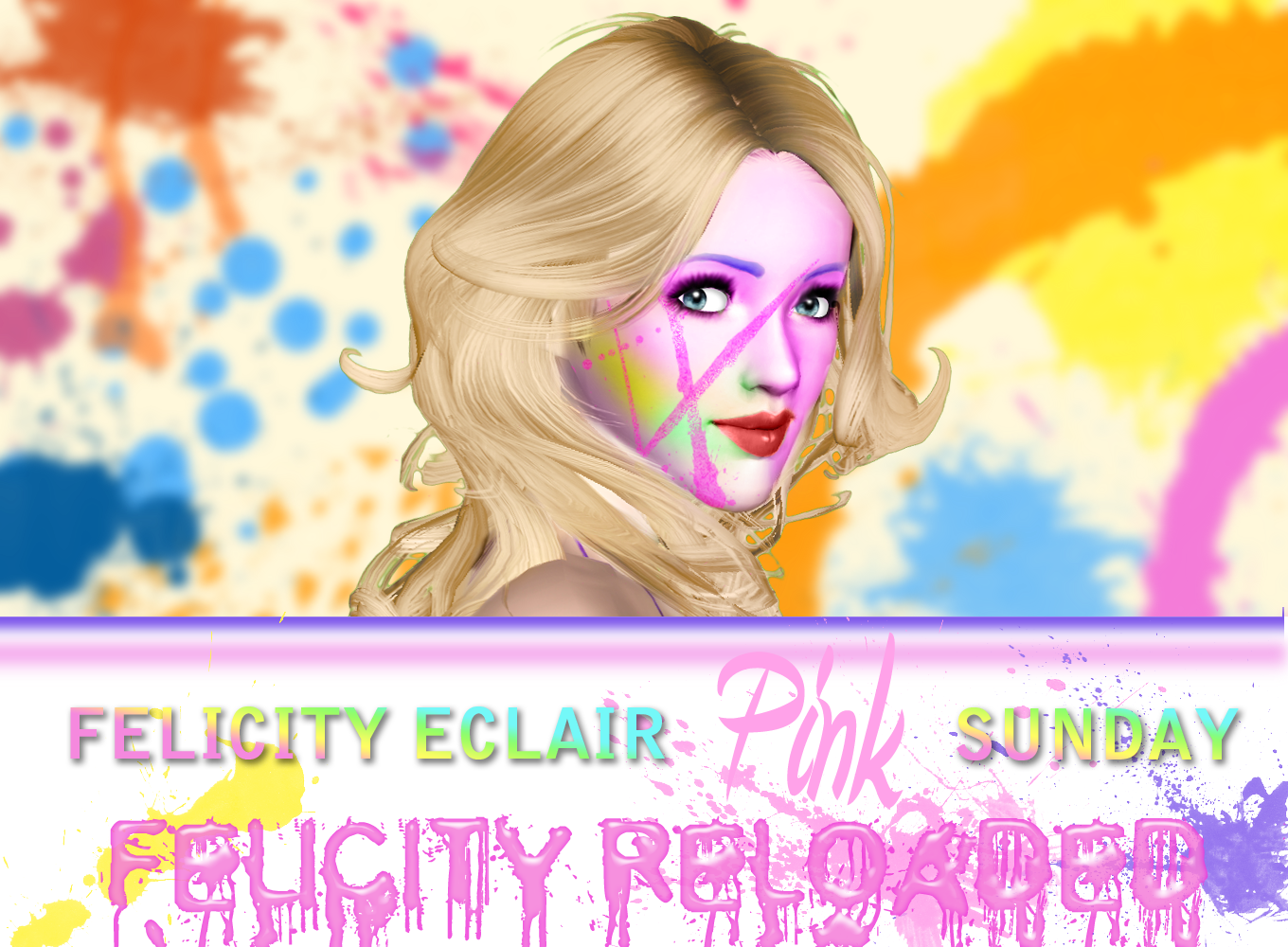 Felicity Éclair: Pink Sunday - Felicity Reloaded