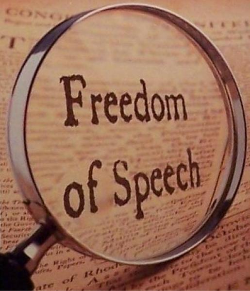 Freedom of Speech Magnified in the Bill of Rights
