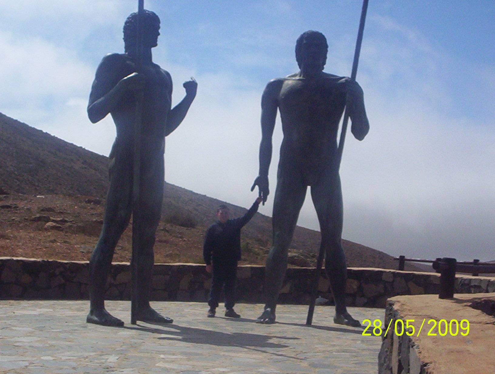 Statues in the Mountains