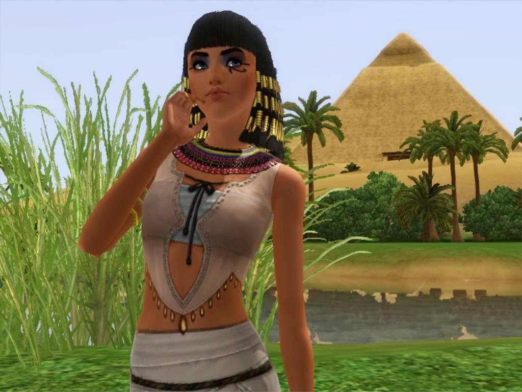 Egyptian Girls: Then
