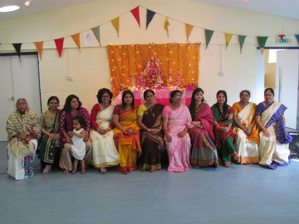 The Ladies at the Puja