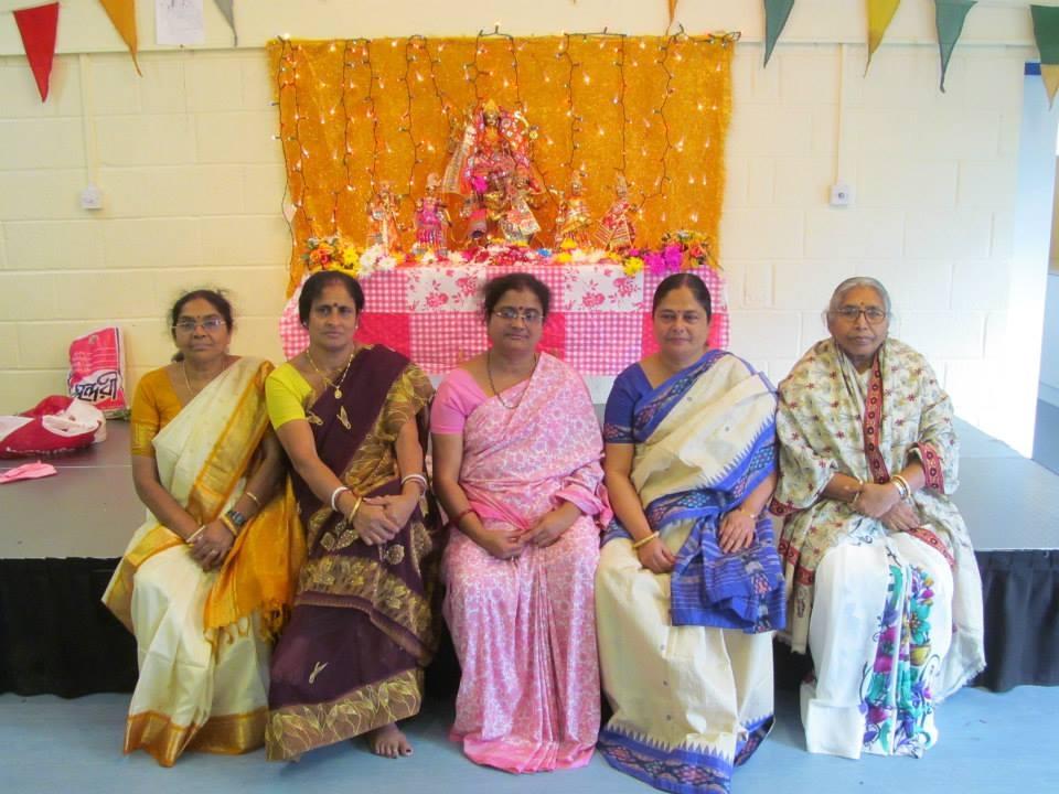 Elders at the Puja